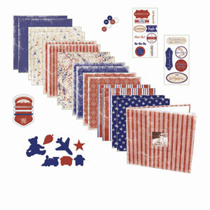 Melissa Frances - Heart and Home - Page Kit - Little Guy, CLEARANCE