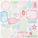 Melissa Frances - Thankful Collection - 12 x 12 Cardstock Die Cuts - Walk for a Cure