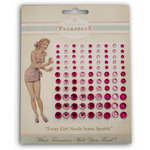 Melissa Frances - Heart and Home - Bling - Rhinestones - Pink, CLEARANCE