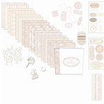 Melissa Frances - Heart and Home - 12x12 Wedding Album Kit - Our Wedding, CLEARANCE