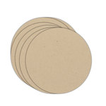 Melissa Frances - Chipboard Backdrops - Circle