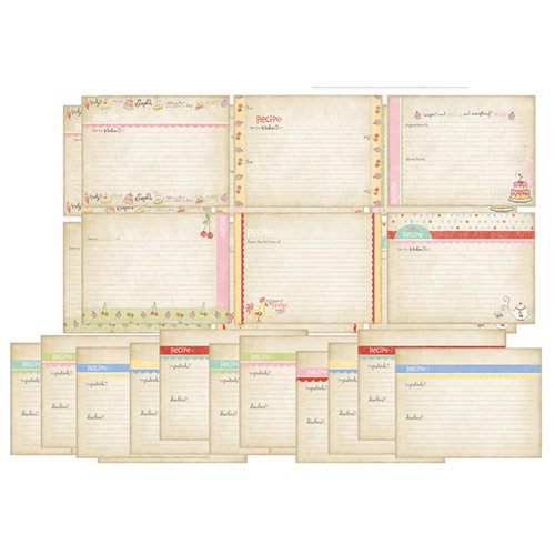 Melissa Frances - Kitschy Kitchen Collection - Recipe Cards - Homemade