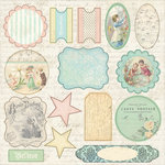 Melissa Frances - 5th Avenue Collection - 12 x 12 Cardstock Die Cuts