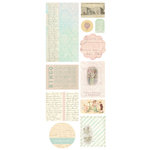 Melissa Frances - 5th Avenue Collection - Chipboard Pieces