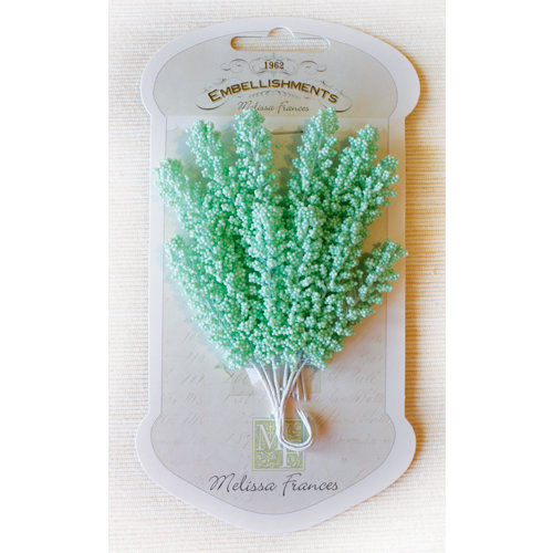 Melissa Frances - Vintage Flower - Light Green Sprig