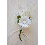Melissa Frances - Vintage Flower - White Pick