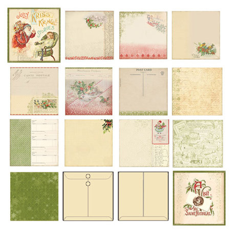 Melissa Frances - Deck the Halls Collection - Christmas - Mini Album - Holiday