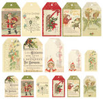 Melissa Frances - Deck the Halls Collection - Christmas - Tags