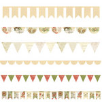 Melissa Frances - Deck the Halls Collection - Christmas - Cardstock Banners