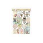 Melissa Frances - C'est la Vie Collection - Cardstock Stickers - Vintage
