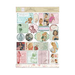 Melissa Frances - C'est la Vie Collection - Cardstock Stickers - Retro