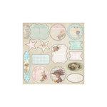 Melissa Frances - C'est la Vie Collection - 12 x 12 Cardstock Die Cuts