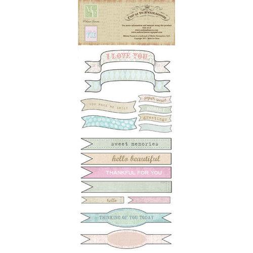 Melissa Frances - C'est la Vie Collection - Cardstock Stickers - Banners