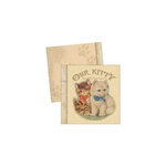 Melissa Frances - Attic Treasures Collection - Mini Album - Our Cat