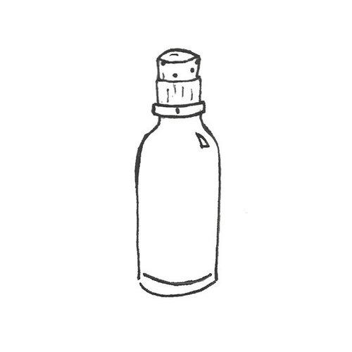 Melissa Frances - Mini Glass Bottles - Set of 2