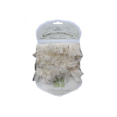 Melissa Frances - Ribbon - Organza Pouf - Cream