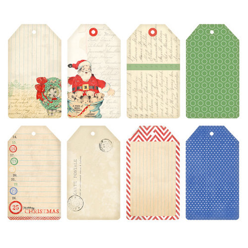 Melissa Frances - Countdown to Christmas Collection - Tags