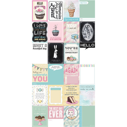 Melissa Frances - The Sweet Life Collection - Journaling Cards