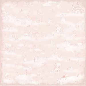 Melissa Frances - Heart and Home - 12x12 Paper - Victoria, CLEARANCE