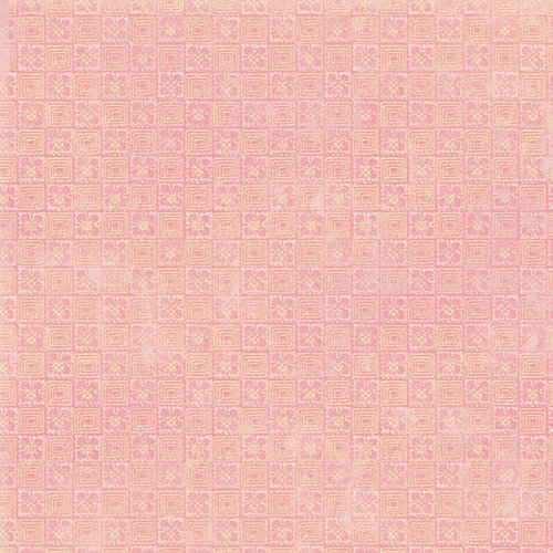 Melissa Frances - Vintage Posey Collection - 12 x 12 Paper - Henrietta
