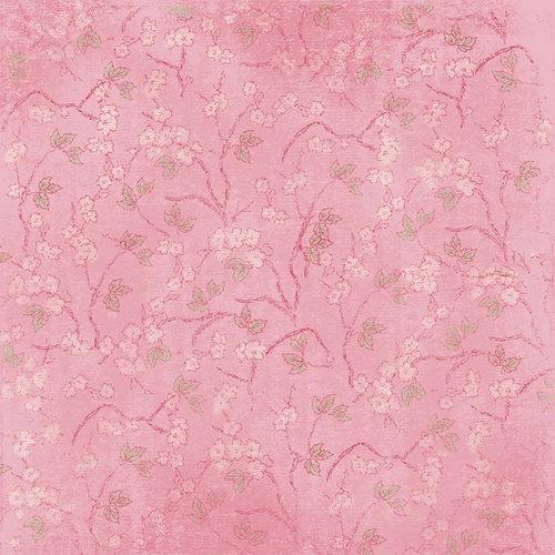 Melissa Frances - Vintage Posey Collection - 12 x 12 Paper - Maxine