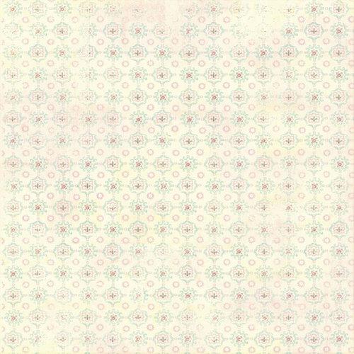 Melissa Frances - Vintage Posey Collection - 12 x 12 Paper - Madeline