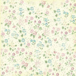 Melissa Frances - Heart and Home - Vintage Posey Collection - 12 x 12 Paper - Ella