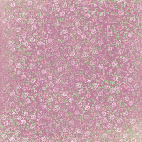Melissa Frances - Vintage Posey Collection - 12 x 12 Paper - Stella