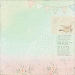 Melissa Frances - 5th Avenue Collection - 12 x 12 Paper - Essie