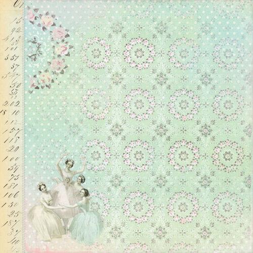 Melissa Frances - 5th Avenue Collection - 12 x 12 Paper - Lula