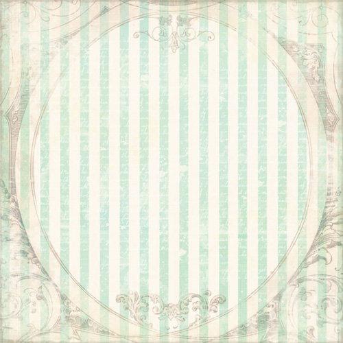 Melissa Frances - 5th Avenue Collection - 12 x 12 Paper - Minerva
