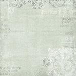 Melissa Frances - C'est la Vie Collection - 12 x 12 Paper - Newsprint