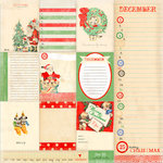 Melissa Frances - Countdown to Christmas Collection - 12 x 12 Paper - Countdown