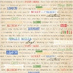 Melissa Frances - Countdown to Christmas Collection - 12 x 12 Paper - Caroling All the Way