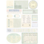Melissa Frances - Heart and Home - Designer Stickers - Hush a' Bye Date Prompt, CLEARANCE