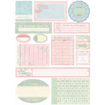Melissa Frances - Thankful Collection - Cardstock Stickers - Breast Cancer - Date Prompt