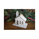 Melissa Frances - Christmas - Ornament - Church