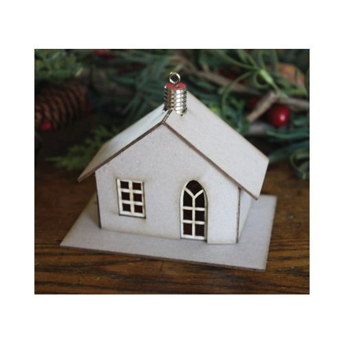 Melissa Frances - Christmas - Ornament - Cottage House