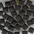 Happy Hammer - Bazzill Basics Mini Brads - Simply Squares - Black, CLEARANCE