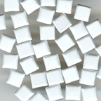 Happy Hammer - Bazzill Basics Mini Brads - Simply Squares - White, CLEARANCE