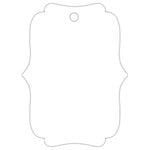 Hampton Art - Tags - Deco - White