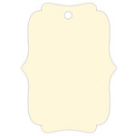 Hampton Art - Tags - Deco - Ivory