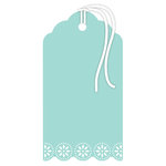 Hampton Art - Tags - Doily - Blue