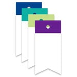 Hampton Art - Luggage Tags with Twine - Top Flag