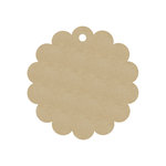 Hampton Art - Tags - Chipboard - Circle