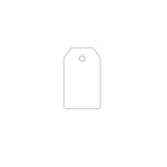 Hampton Art - Tags - Small - White