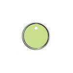 Hampton Art - Tags - Round - Metal Rim - Green
