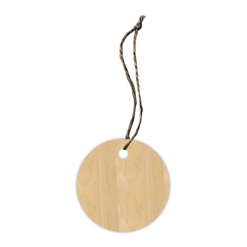 Hampton Art - Tags - Wood Veneer - Circle