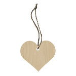 Hampton Art - Tags - Wood Veneer - Heart