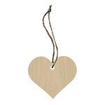 Hampton Art - Tags - Wood Veneer - Heart